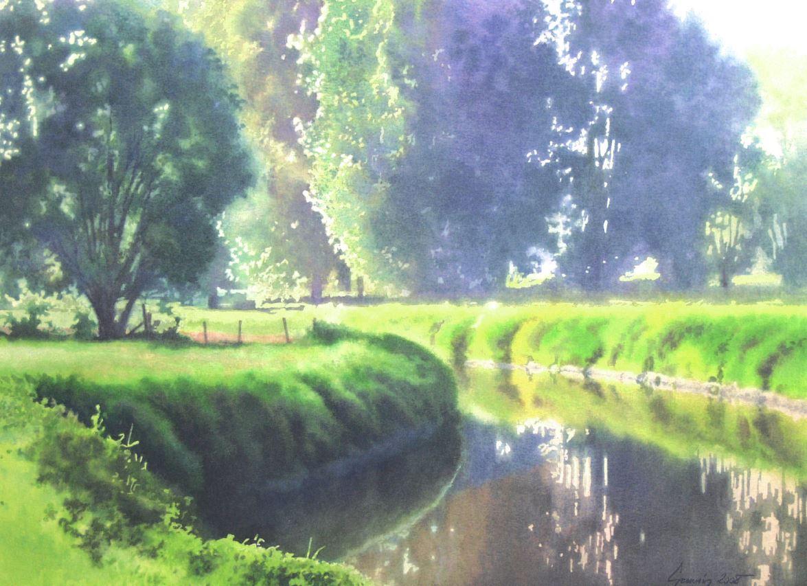 Aquarel Schilderen Nat-in-nat Techniek (gevorderden) O.l.v. Guy Gruwier – VOLZET