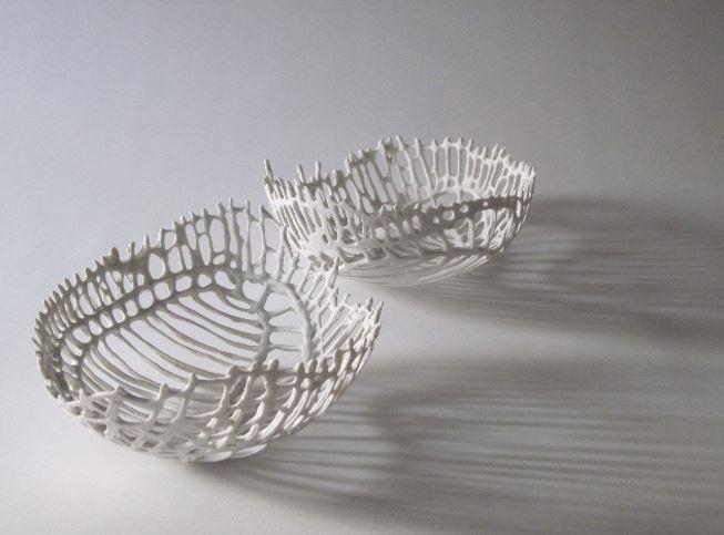 Drie-dimensionele vormen tekenen met vloeibaar papierporselein - Anima Roos